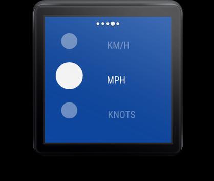 Tachometer Für Wear OS (Android Wear) Screenshot 3