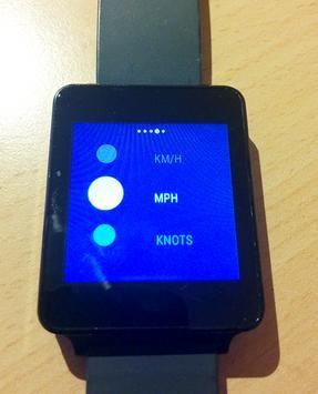 Tachometer Für Wear OS (Android Wear) Screenshot 1