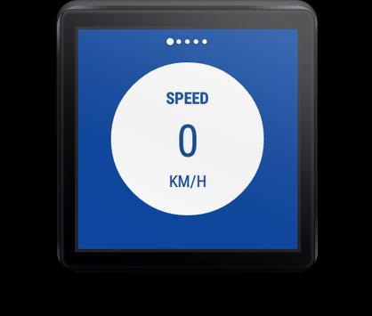 Tachometer Für Wear OS (Android Wear) Screenshot 2