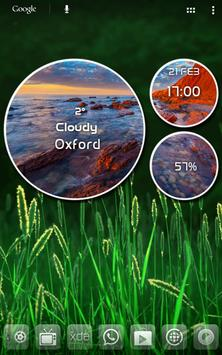 Weather Round UCCW Skin screenshot 1