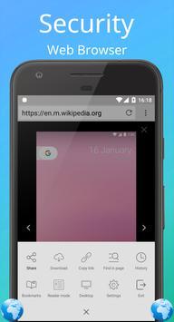 Web Browser (Fast  & Security Web Explorer) screenshot 1