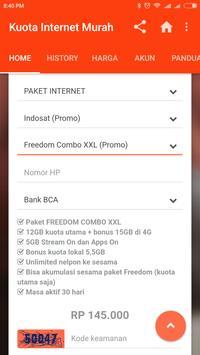 Paket Internet Murah apk screenshot