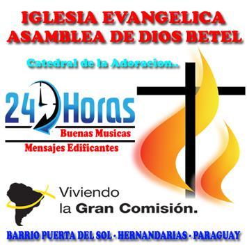 Radio AD Betel Paraguay poster