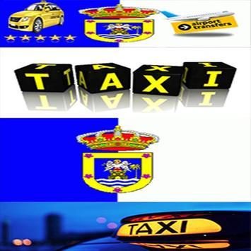 Taxi La Palma Canary Islands poster
