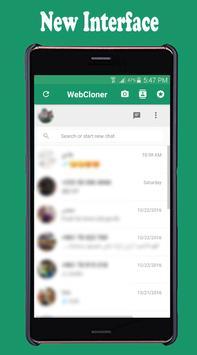 WebCloner captura de pantalla 1