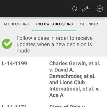 Ohio Sixth District Court apk screenshot