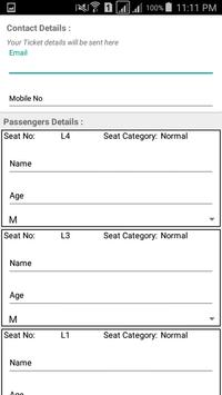 Databankbooking apk screenshot