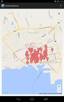Ystad parking apk screenshot