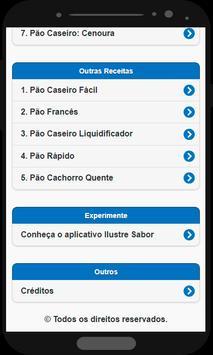 Pão Caseiro screenshot 1