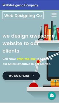Web Designing Company poster