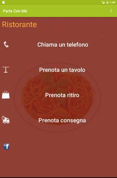 Parla con Me Ristorante Demo screenshot 3