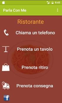 Parla con Me Ristorante Demo screenshot 1