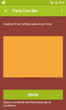 Parla con Me Ristorante Demo screenshot 2