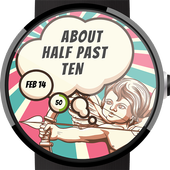 Valentine Thoughts Watch Face icon