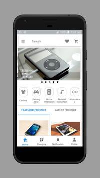 OpenCart Multi Vendor Mobile App poster