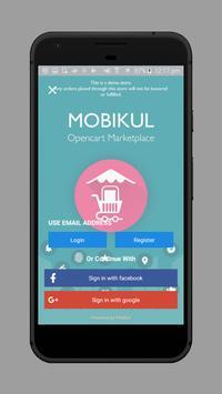 OpenCart Multi Vendor Mobile App screenshot 1