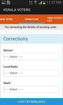 Kerala Voters apk screenshot