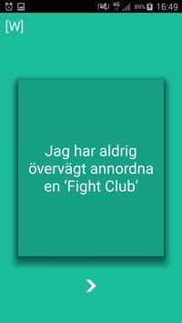 Jag har aldrig: Uppsala poster