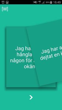 Jag har aldrig: Uppsala screenshot 1