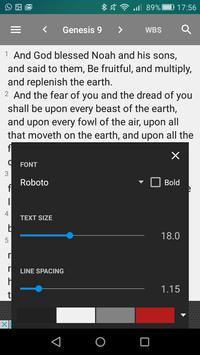 Webster Bible screenshot 3