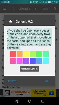 Webster Bible screenshot 4