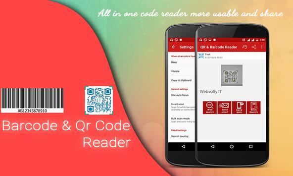 Barcode & Qr Code Reader screenshot 1