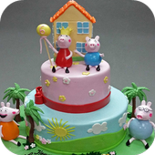 Birthday Cake design idea 2017 icon