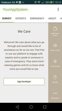 We Care screenshot 1