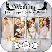 Wedding Photo Video Editor icon