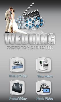 Wedding Photo Video Editor poster
