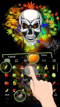 Weed Danger Theme&Emoji Keyboard apk screenshot