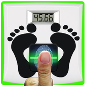 Weight scale prank (fake) icon