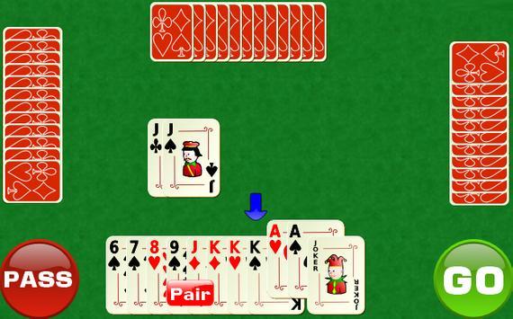 Reverse Big 2 apk screenshot