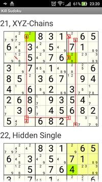 Kill Sudoku screenshot 5