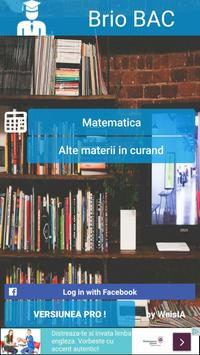 Bac Matematica poster
