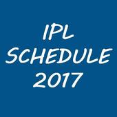 Schedule of IPL 2017 icon