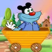 ogy running icon