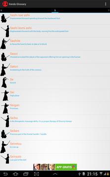 Glosario de Kendo captura de pantalla 7