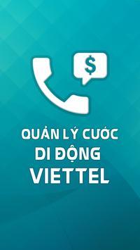 Quản Lý Cước Di Động Viettel poster