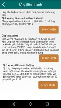 Quản Lý Cước Di Động Viettel screenshot 6