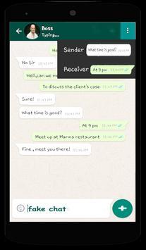 Whats PROfake apk screenshot