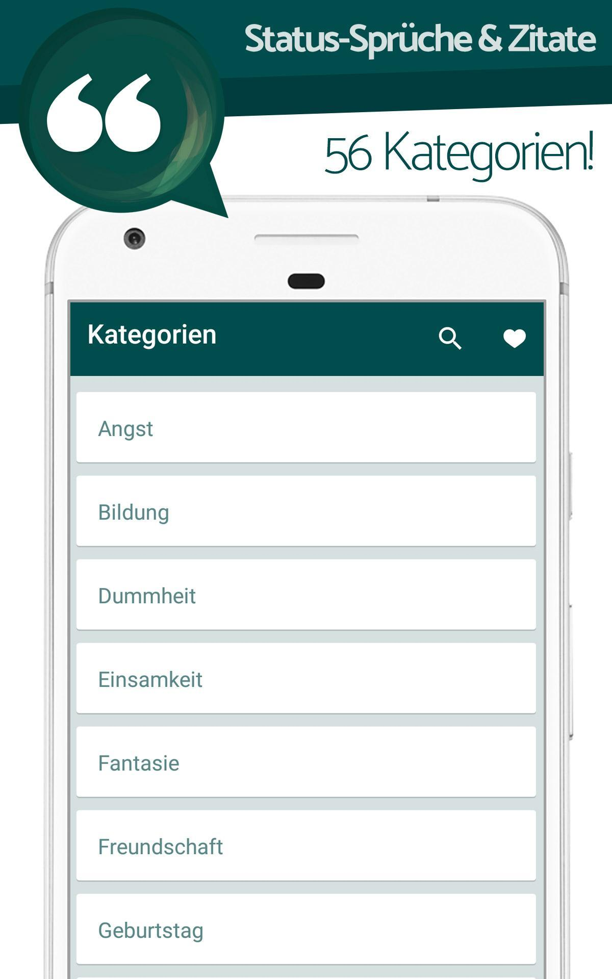 In German Status Sprüche Zitate For Android Apk Download