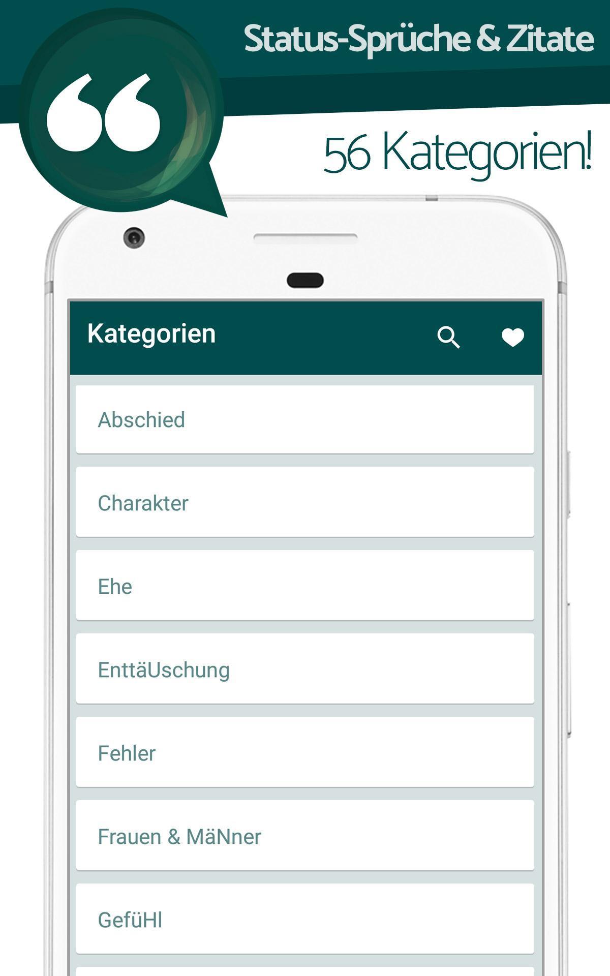 Status Sprüche Zitate для андроид скачать Apk