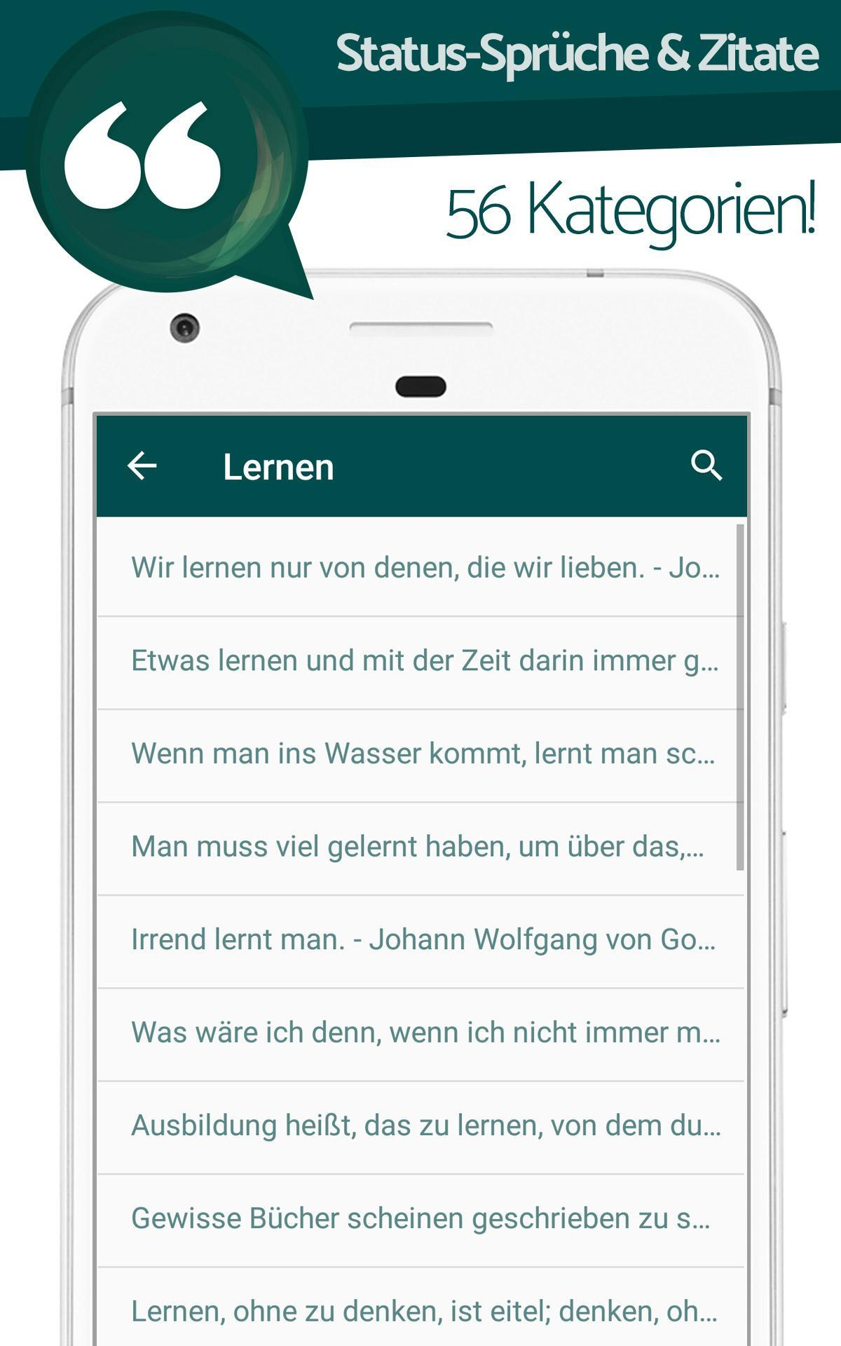 Status Sprüche Zitate For Android Apk Download