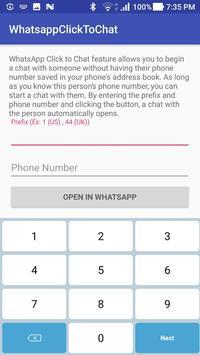 ClickToChat Whatsapp poster