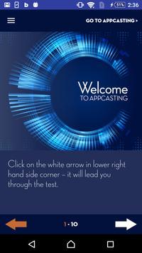 AppCasting Surveys poster