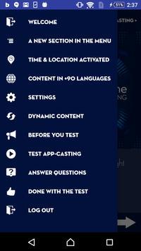 AppCasting Surveys screenshot 1
