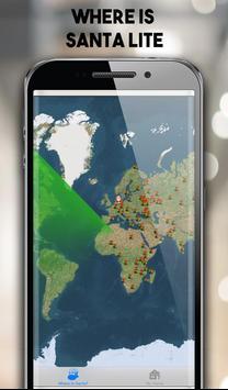 Where is Santa Lite - santa claus tracker 2018 screenshot 3