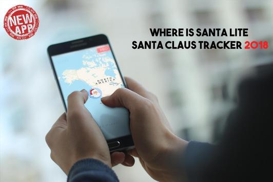 Where is Santa Lite - santa claus tracker 2018 poster