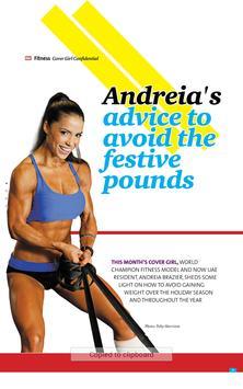 Women's Health & Fitness ME apk screenshot